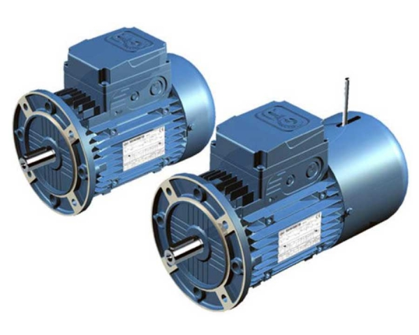High efficiency asynchronous three-phase motors