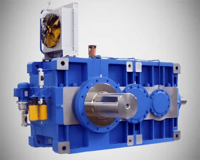 Helical and bevel helical gear units for heavy industry